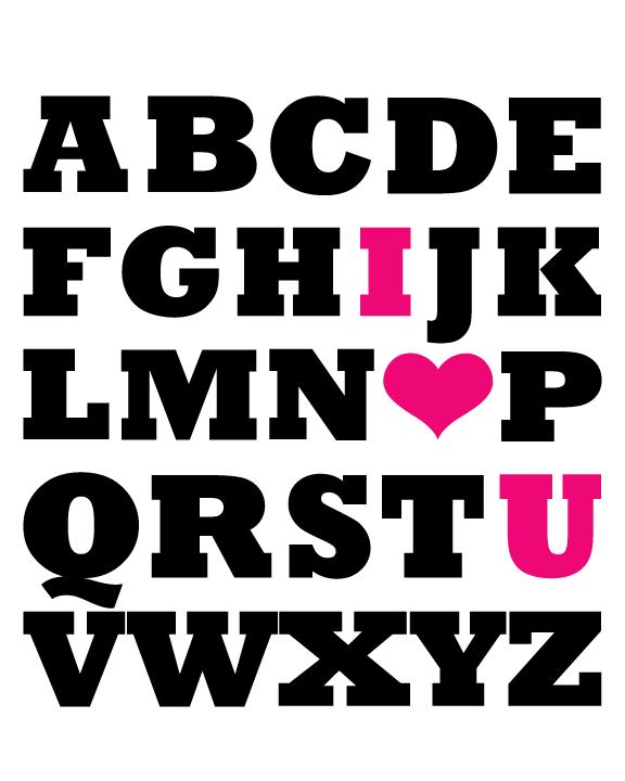 Alphabet for Cora