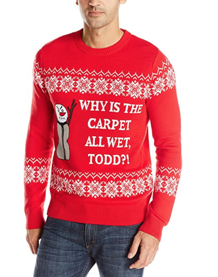 Todd and Margo Christmas Vacation Sweater 1
