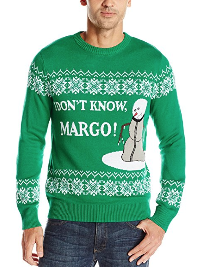 Todd and Margo Christmas Vacation Sweater