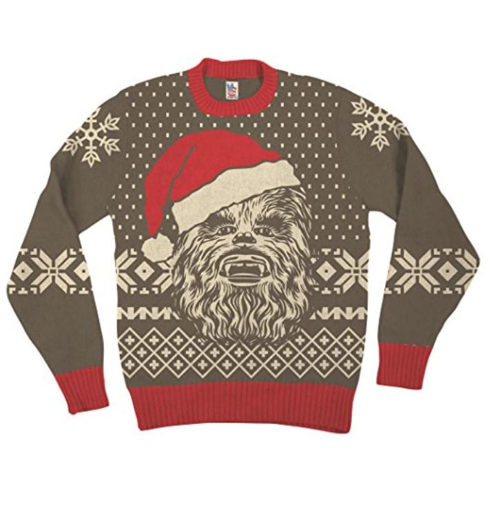 star wars chewbacca christmas sweater