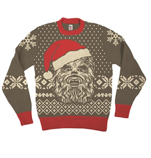 star wars chewbacca christmas sweater