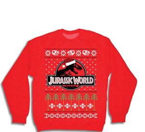 jurassic world christmas sweater
